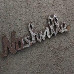 Nashville Metal Wall Art